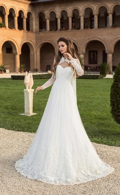 2017 Wedding Dresses with Bolero Cheap Bridal Gowns Sweetheart A ...