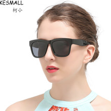 2017 Fashion Oversized Sunglasses Women Men Driving Eyeglasses UV Shades Retro Polarized Oculos Male Vintage Sun Glasses YJ203
