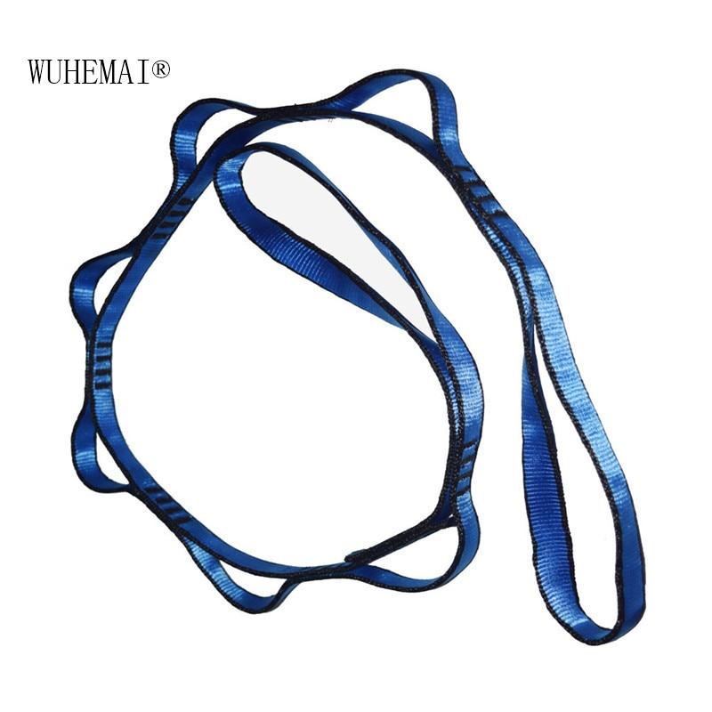 Купить с кэшбэком Anti gravity air yoga belt Yoga rope safety climbing chrysanthemum Yoga hammock special high strength mountaineering belt