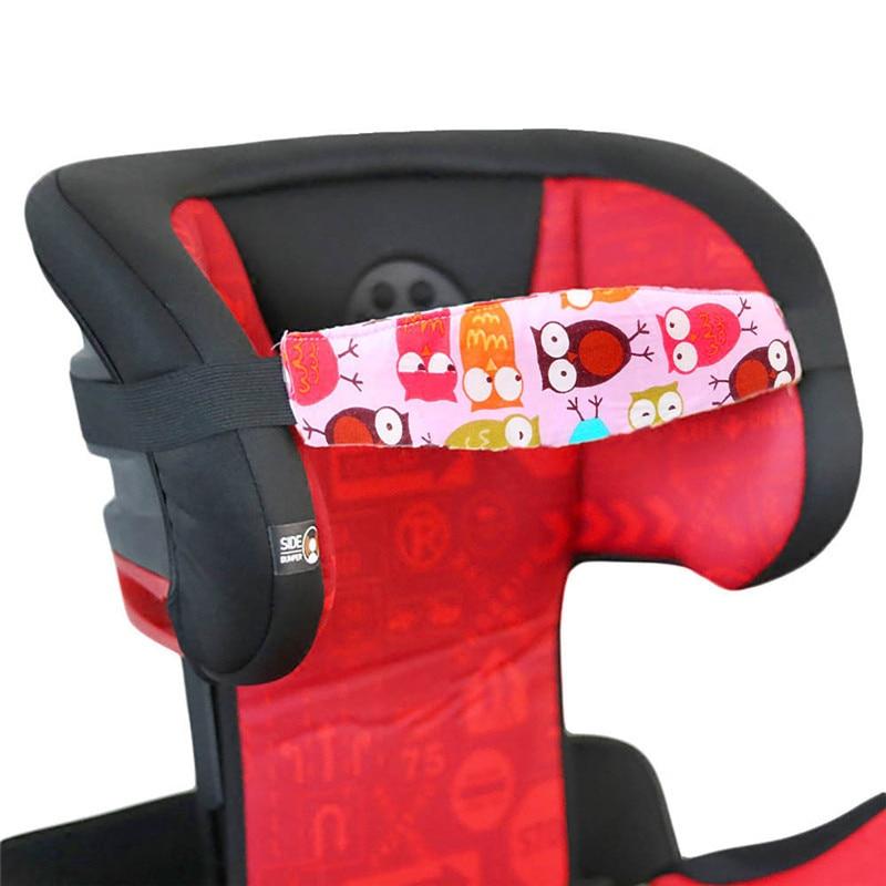 1Pcs Fixing Band Baby Kid Head Support Holder Letter Print Sleeping Belt Ca W9Q3