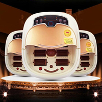 Hot Sale Foot bath fully automatic massage footbath electric heated massage feet basin bath free shipping