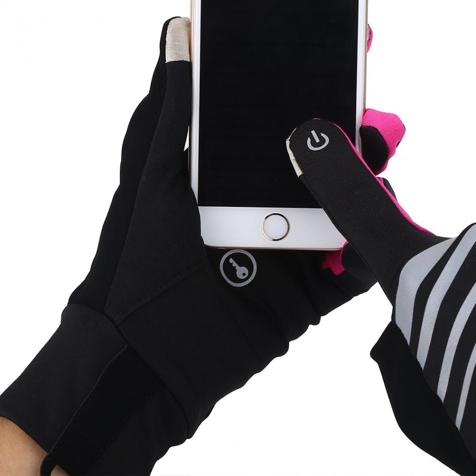 Full Finger Touch Screen Cycling Gloves Men Bike Sport Gloves Breathable Bicycle Gloves Women Outdoor Hiking