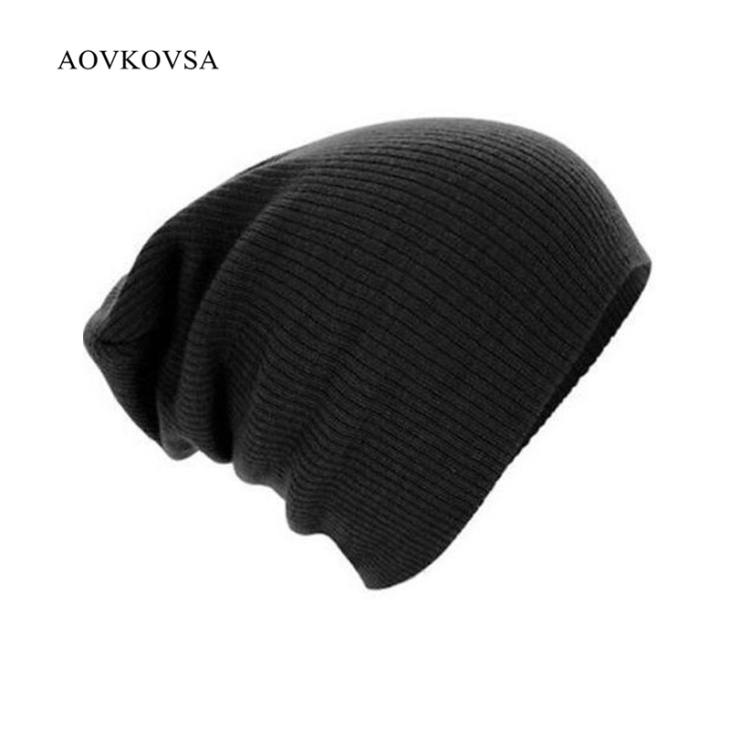 2017 New Hot Style Women's Hats And Men Hat Adult Unisex Casual Solid Hip Hop Turtleneck Cap Autumn Winter Warm Knitting Hats 2017 special offer limited polyester adult beanie korean warm fold hip hop head cap casual knitting hat wool winter heap hats