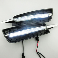 High Quality Auto Headlight LED Daytime Running Light Driving External Light Source Car Fog Lamp For