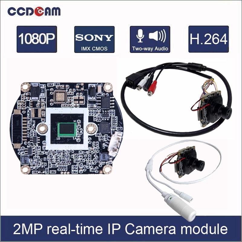 HD 1080P CCTV Starlight low illumination 2MP Network IP Camera Hisilicon 2.8mm
