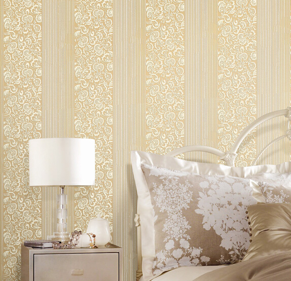 2016 selling non-woven wall paper european-style bedroom living room TV setting wallpaper 3d wall stickers Papilio river dance european non woven wallpaper wall stickers bedroom living room tv setting wall paper wallpaper the sand classic stripes european