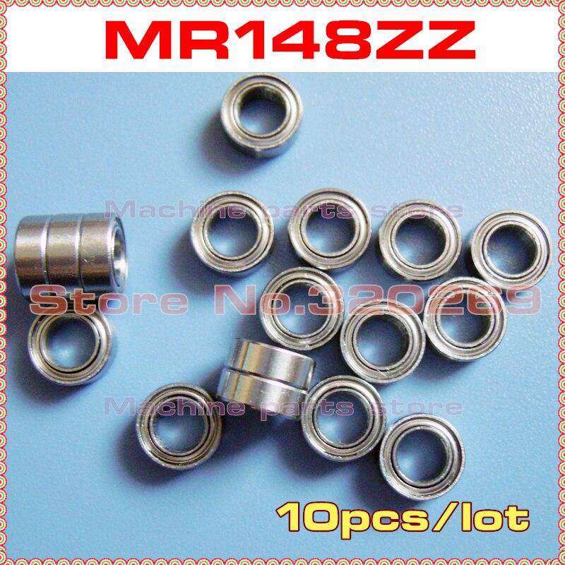 MR148ZZ Metal Double Shielded Ball Bearing Bearings 8*14*4 8x14x4 mm 20 Pcs