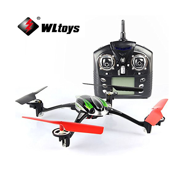 WLtoys V636 4-CH 360 Flips 2.4GHz Radio Control RC Quadcopter with 6-Axis Gyro Support FPV Camera RTF skytech m62r 4 ch 360 flips 2 4ghz radio control rc quadcopter drone with 6 axis gyro hd fpv camera helicopter rtf