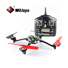 WLtoys V636 4-CH 360 Flips 2.4GHz Radio Control RC Quadcopter with 6-Axis Gyro Support FPV Camera RTF