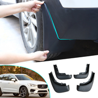 Front Rear Mud Flaps Mudflap Splash Guards For Fender For Volvo XC60 2014 2015 2016 2017 Mudguards Accessories