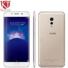 Original VIVO Xplay6 Xplay 6 Mobile Phone 6G RAM 128G ROM Snapdragon 820 Quad Core 5.45″ Andriod 6.0 3D Curvy Screen 16MP Camera