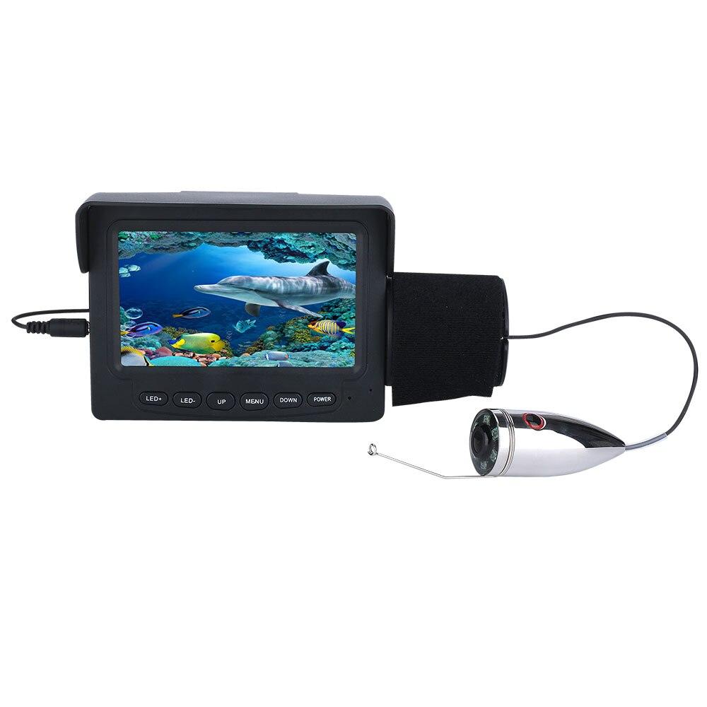 Câmera de Vídeo do Monitor Gelo Noite Lcd da Fishfinder