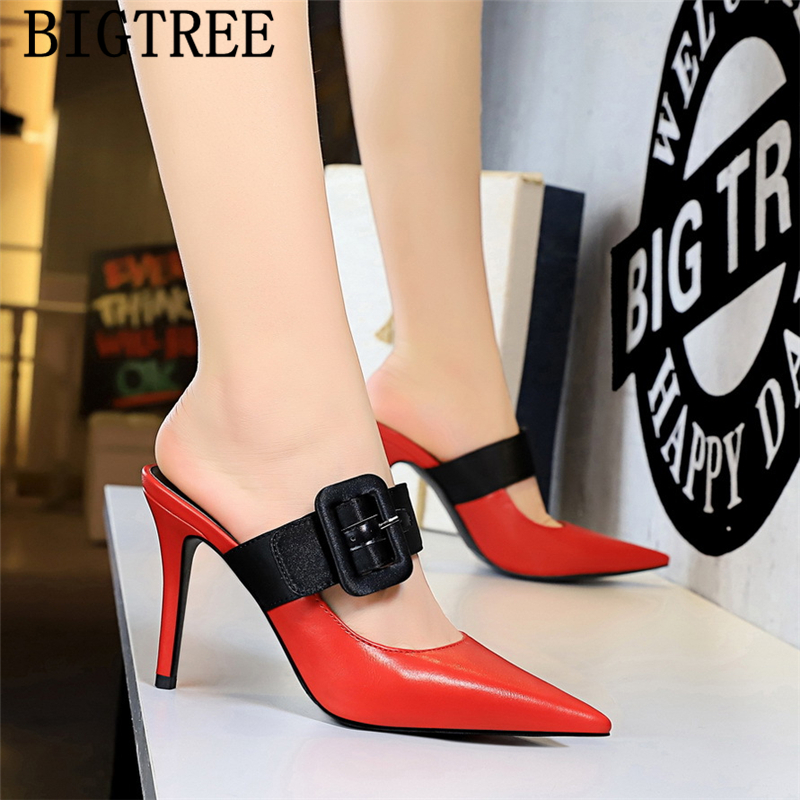 Party Shoes Luxury Heels Bigtree Shoes Mules High Heels Valentine Shoes Sexy High Heels 2019 New Pumps For Women Bayan AyakkabiParty Shoes Luxury Heels Bigtree Shoes Mules High Heels Valentine Shoes Sexy High Heels 2019 New Pumps For Women Bayan Ayakkabi