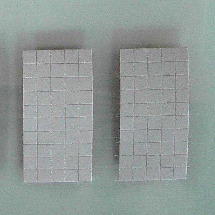 Красная Наклейка 2,5x2,5 мм, водостойкая наклейка квадратной формы, красная наклейка с защитой от подделок, водочувствительная этикетка, защит...