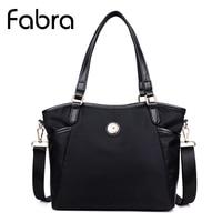 Fabra Waterproof Nylon Women Messenger Bags Solid Crossbody Shoulder Bag Tote Small Size Handbags 30 12