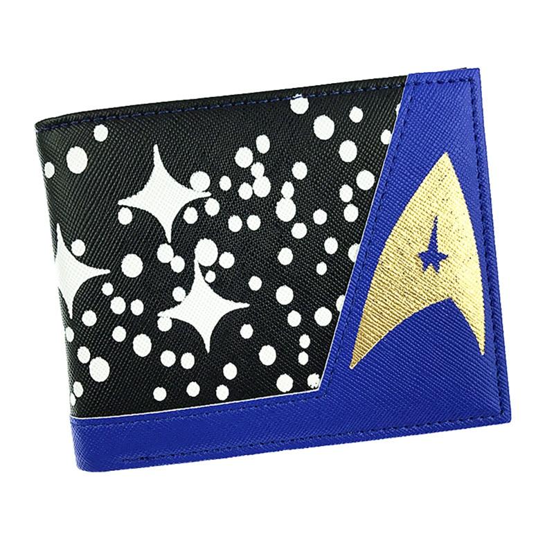 Starcraft Movies Fans Wallet For Men Bifold Star Trek Wallet Short Leather Card Holder Purses zelda wallet bifold link faux leather dft 1857