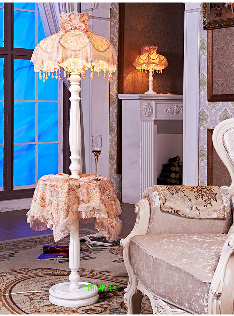 2019 Korean Style Girl Room Floor Lamp Living Room Standing Lamp Bedroom  Wedding Gifts Led Floor Lights Villa Hotel Rooms Decorative Lighting From  ...