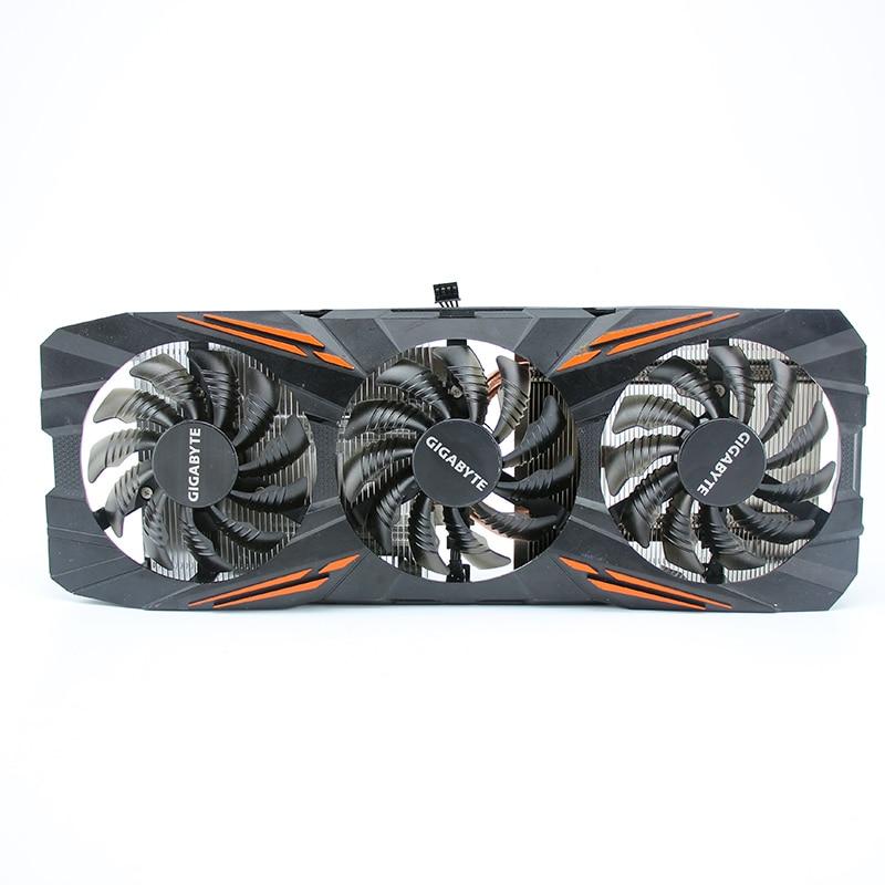 Оригинальный охлаждающий вентилятор для видеокарты Gigabyte GTX 1070 G1 Gaming 8G|Кулеры/вентиляторы/системы охлаждения|   | АлиЭкспресс