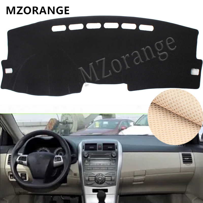 Dashboard Cover For Toyota Corolla E140 E150 2006-2008 2009 -2012 2013 Dashmat Mat Pad Sun Shade Board Car Parts Cover Carpet