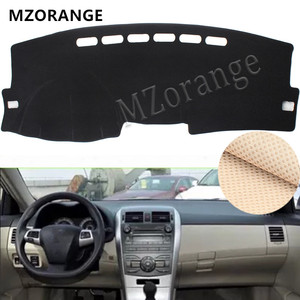 Dashboard Cover For Toyota Corolla E140/E150 2006-2008 2009 -2012 2013 Dashmat Mat Pad Sun Shade Board Car Parts Cover Carpet