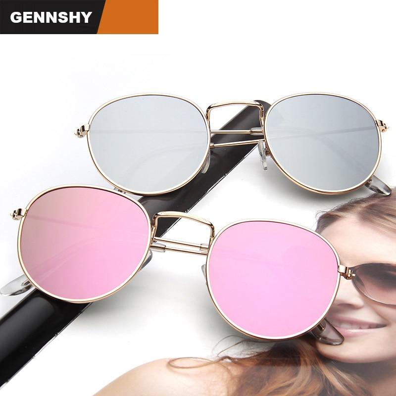 2017 gafas de sol redondas mujeres retro diseñador de la marca de - Accesorios para la ropa - foto 4
