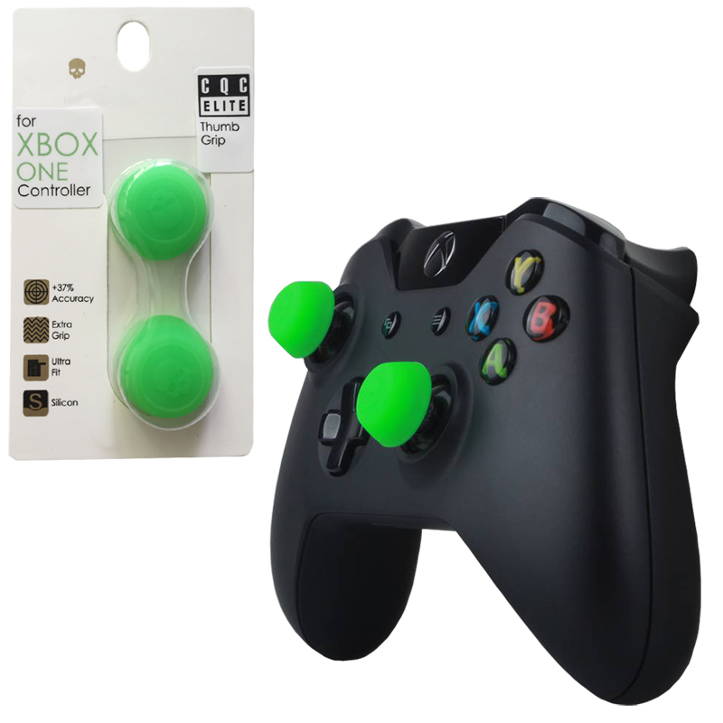 Skull&Co 2 Pairs 4 Pcs Silicone Controller Analog Grips CQC Thumbstick Cover For XBOX ONE/360