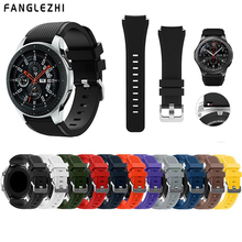 купить Gear S3 Frontier/Classic Watch Band 22mm Silicone Sport Replacement Watch Men women's Bracelet watches Strap for Samsung Gear S3 по цене 130.91 рублей