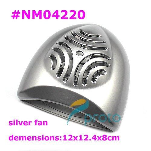 Freeshipping-NEW Mini Compact Nail Polish Dryer Battery Nail Fan Dryer Wholesales SKU:E0187X