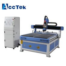 Acctek good quality 4 tools ATC cnc carving machine router for sign 1212