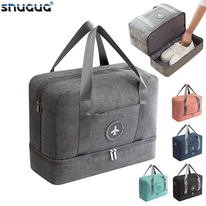 New Oxford Travel Sports Bag Ladies Waterproof Sport Gym Bags Women Outdoor Men Training Bags 2019 Fitness Storage Tote For Shoe