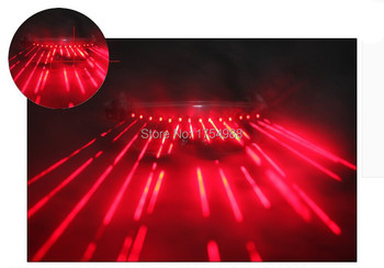 Free shiping Christmas  glasses wedding party decoration Red laser glasses  party LED stage glasses