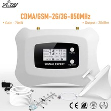 Repetidor de señal para teléfono móvil inteligente, amplificador de señal para teléfono móvil inteligente, frecuencia Global, 2G, 3G, 2020 MHz, 850