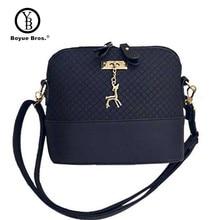 Boyue Bros. Deer Shell women Bag HOT SALE Women Messenger Bags Fashion lady crossbody Mini Bag Women Shoulder Bags drop shipping