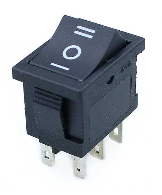 1 pièces KCD1 Mini noir 3 broches/6 broches On/Off/On interrupteur à bascule AC 6A/250V10A/125 V