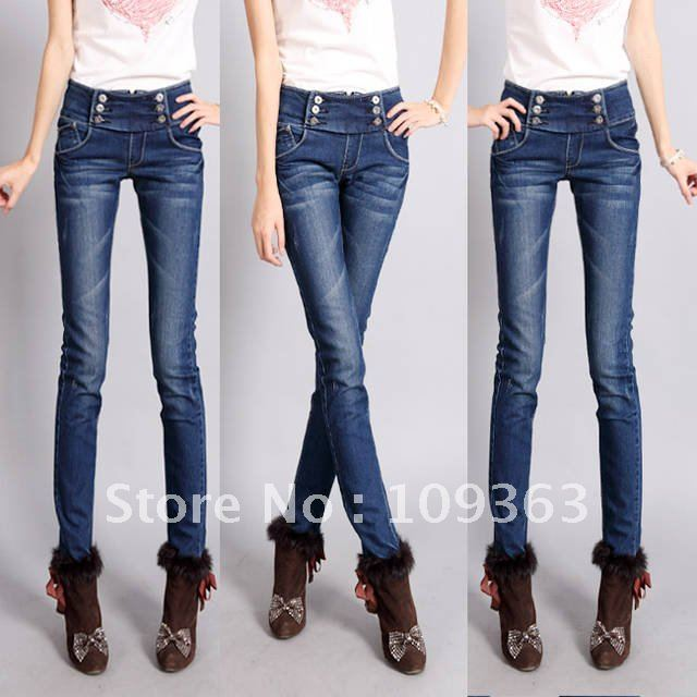 Aliexpress.com : Buy Korean Version New Classic Slim Women's Jeans ...