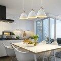 Белый подвесной светильник кухонный островной свет  современный подвесной светильник для спальни  дома  потолочный светильник  лампа в ком...