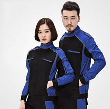 Set of Coat+Pants car service uniform 4s service coat repair clothes working uniform(China)