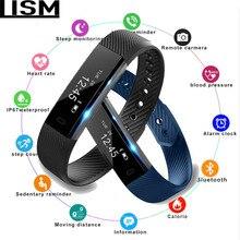Smart Wristband Fitness Tracker Band Bluetooth Sleep Monitor Watch Sport Bracelet for ios Android Phone pk Fit Bit Mi 2 Reloj цена