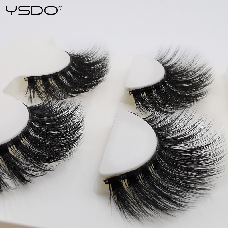 Cilios EyeLashes Natural Long 5 Pairs Cilia 3D Mink Lashes Popular Thick 13MM Natural False EyeLashes G800 Dramatic False Lashes
