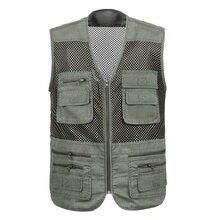 Новый Рыбалка вязаные жилеты для женщин для мужчин нейлоновая сетка дышащая быстросохнущая Multi плоский карман куртка спортивная