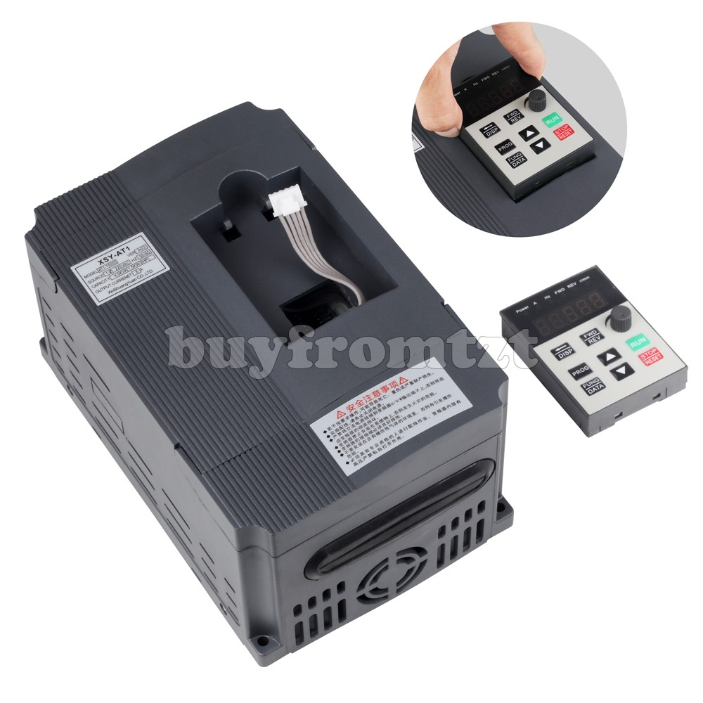 220V 1.5KW VFD Single Phase Input Variable Frequency Drive Three Phase Output AT1-1500S220V 1.5KW VFD Single Phase Input Variable Frequency Drive Three Phase Output AT1-1500S