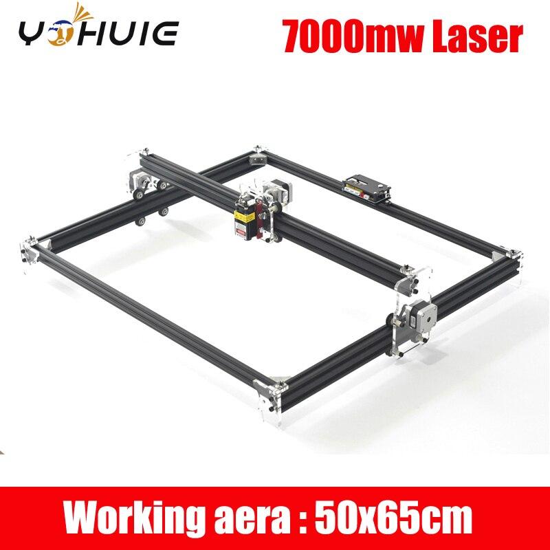 YOHUIE 500mw 7000W DIY Laser Engraver Machine Engraving Machine Wood Router Mini Marking Machine Advanced Toys