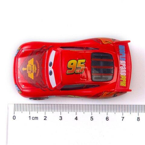 Disney Pixar Cars 3 The New Lightning McQueen Jackson Storm Ramirez Mater 1:55 Diecast Metal Alloy Model Car Toy Kids Gift Lahore
