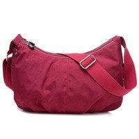 New Women 2017 Designer Woman Bags Handbags Cosmetics Tote Bags Printing Lady Nylon Shoulder Messenger Bag