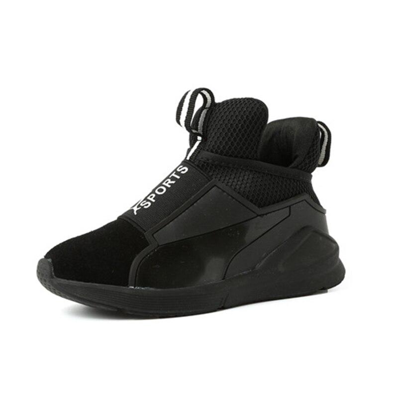 Dzieci Sportowe skórzane buty dla chłopców Dziewczyna Dzieci - Obuwie dziecięce - Zdjęcie 2