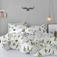40d9b0aa79c4 Svetanya Cactus Pineapple Bedding Set 100% Cotton Bedlinen Twin Single Double  Queen King Size sheet