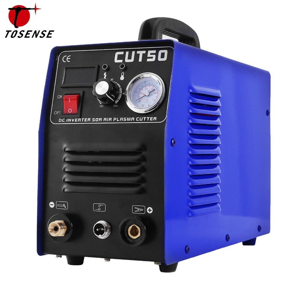 Livraison Gratuite 50 Ampères plasma cutter, plasma machine de découpe, soudeur companion, CUT-50, CUT50