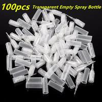 50pcs 2ml Plastic Mini Sample Refillable Bottle Clear Atomizer Hydrating Sample Spray Perfume Bottl Portable Container