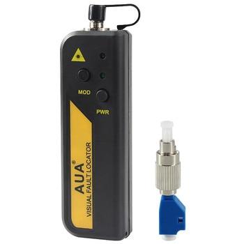 цена на Mini 20mw Red Laser Light Fiber Optic Cable Tester LC/SC/FC/ST Connector Cable Laser Optical Fiber Tester