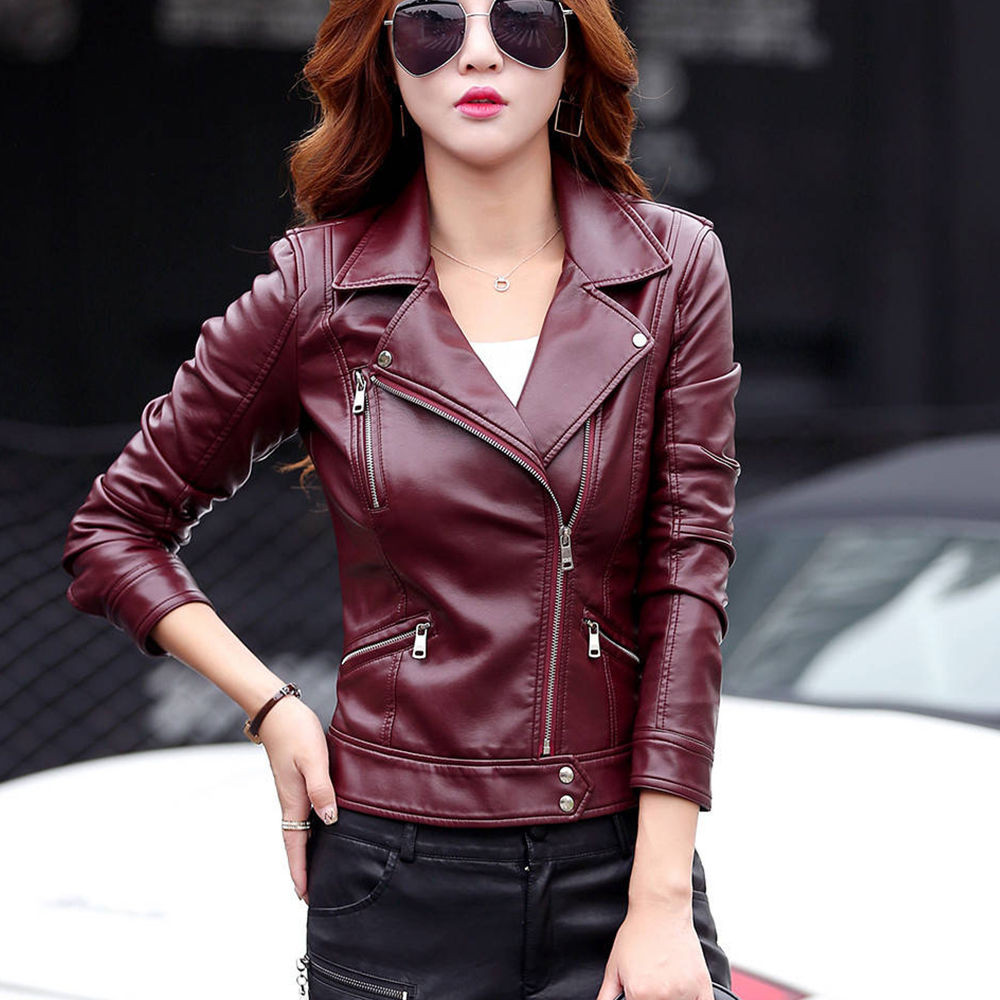 Telotuny women clothing Leather Suede youth Motorcycle jacket women autumn jacket women long female coat veste femme JL 18